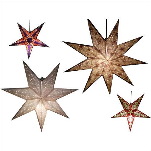 X-mas Decorative Paper Stars