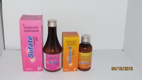 Sucralfate & Oxetacaine Suspension