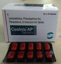 Levocetrizine 2mg, Phenylephrine 2.5mg,Paracetamol