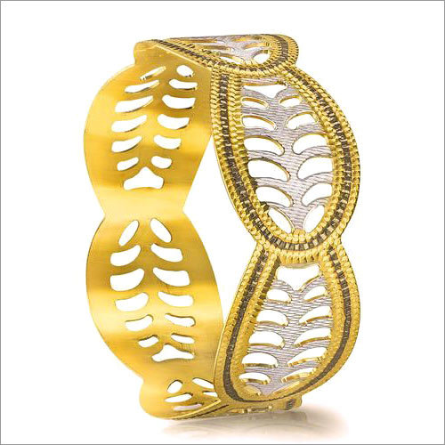 Fancy Gold Bangle