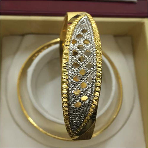 Diamond Gold Bangle