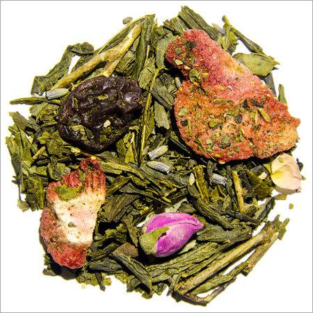 Strawberry & Champagne Green Tea