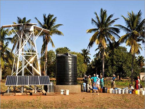 Solar Energy Based Dual Pump