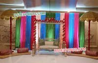 Wedding Mehandi Decor Wooden Swing