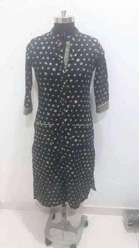 Designer Black kurti