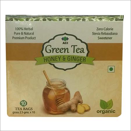 Honey Ginger Green Tea