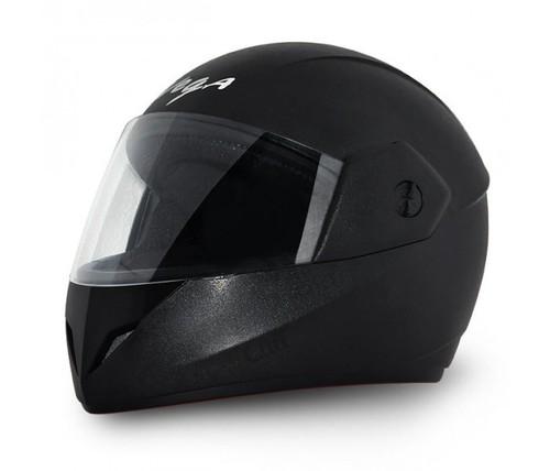 崖の黒いヘルメット