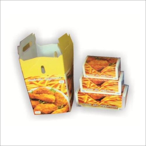 Printed Chicken Box