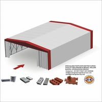 Brick and Precast Product Curing Tent