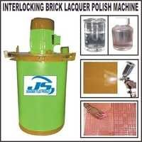 INTERLOCKING BRICK LACQUER POLISH MAKING MACHINE