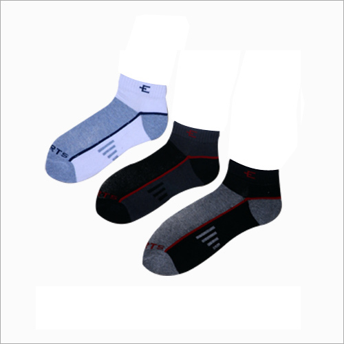 Mens Printed Ankle Socks
