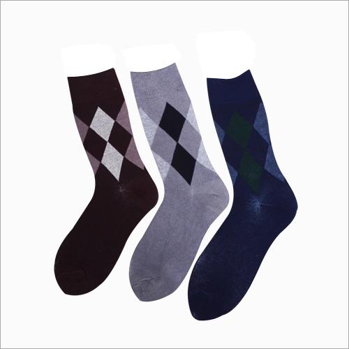 Mens Printed Crew Socks