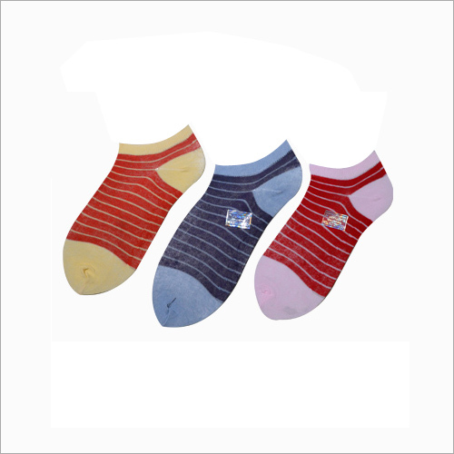 Ladies Multicolor Ankle Socks