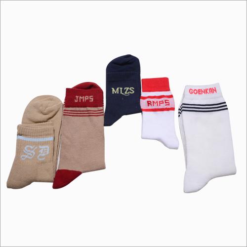 Printed School Uniform Socks