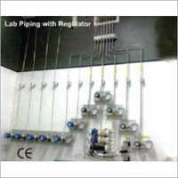 Lab Piping With Regulator