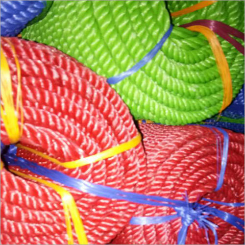 Multi Colour Plastic Ropes