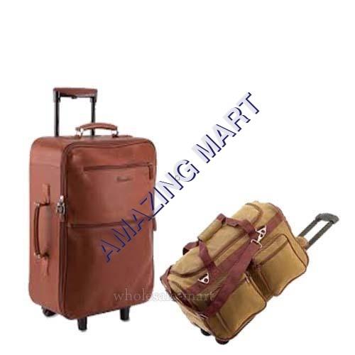 Trolley Leather Bag