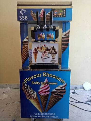 Cone Ice Cream Machine