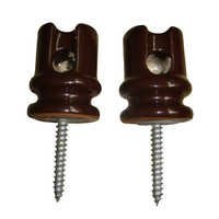 Low tension high tension insulators