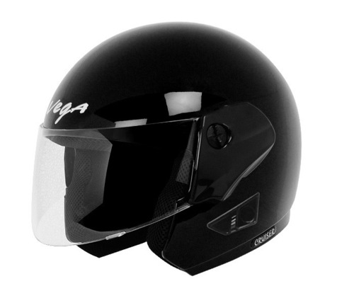 Cruiser Black Helmet