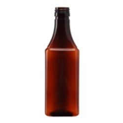 100 ML flat pet bottles