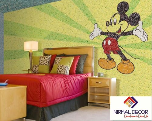 Cartoon Wall Painting Designs