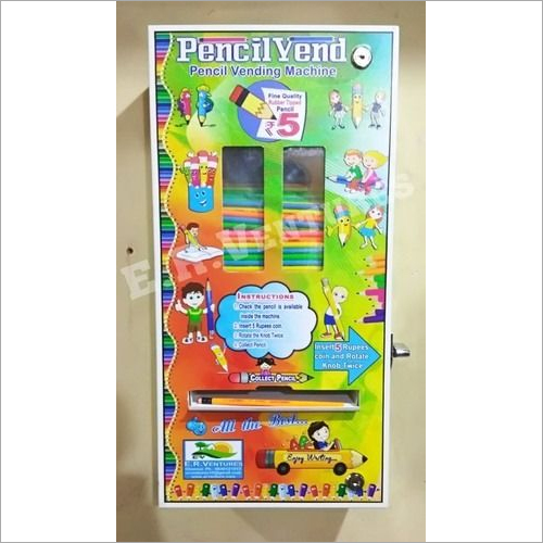 Pencil Vending machine for Schools and Colleges