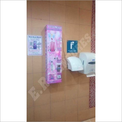 Sanitary Napkin Pad Vending machine for Schools and Colleges