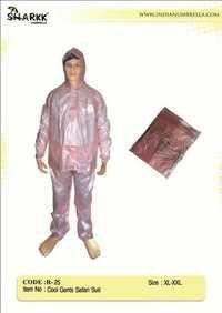 Plastic Pp Raincoat - Cool Gents Safari Suit