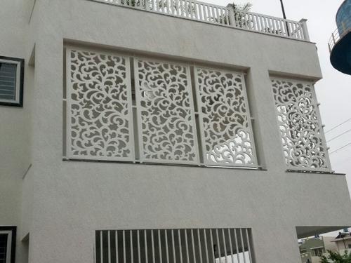PVC sheet Exterior Grill