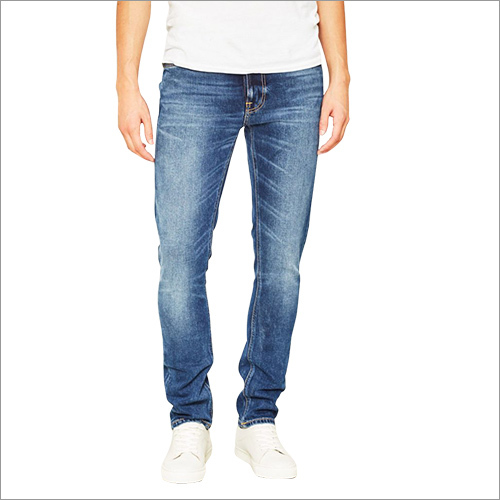 Mens Denim Dobby Jeans