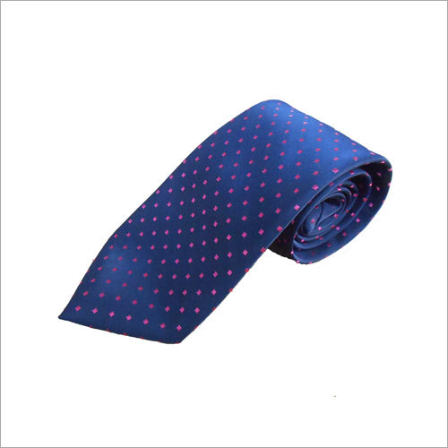 Poly Woven Jacquard Neck Tie