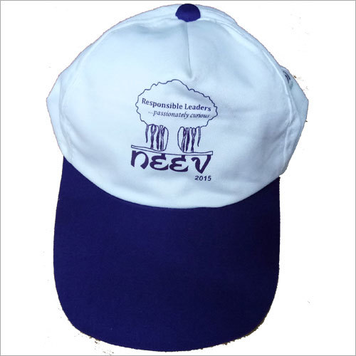 Printed School Cap