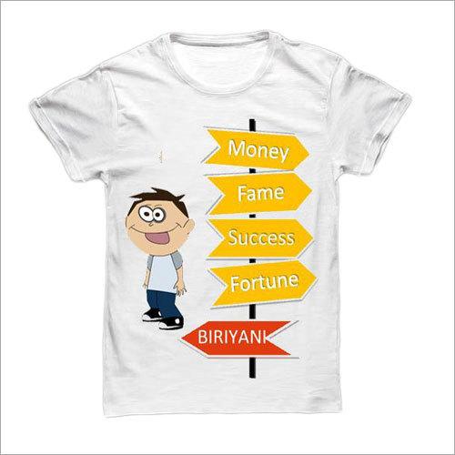 Mens Fancy Print T-Shirt