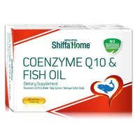 Coenzyme Q10 & Fish Oil Softgel Capsules Blister