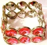 Red Crystal Napkin Ring