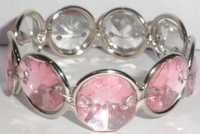 PINK CRYSTAL NAPKIN RING