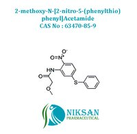 2-methoxy-N-[2-nitro-5-(phenylthio)phenyl]Acetamid