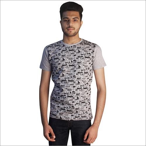Mens Designer Round Neck T-Shirts