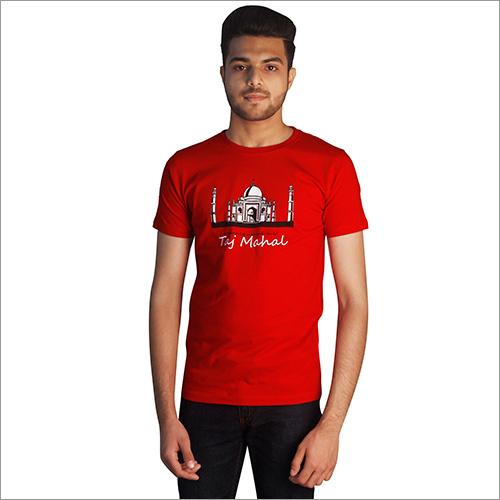 Customized Print Round Neck T-Shirts