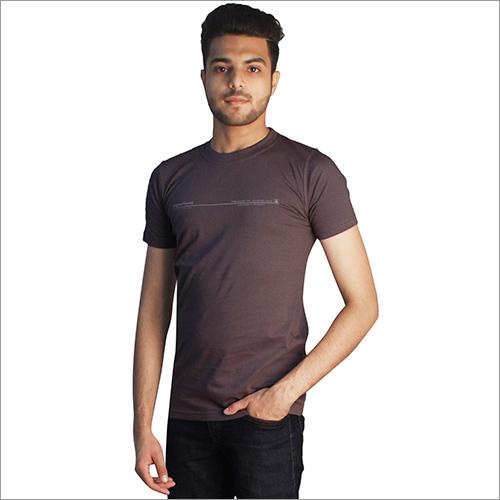 Slate 100% Cotton Round Neck T-Shirts