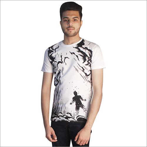 Mens Designer Cotton Round Neck T-Shirts
