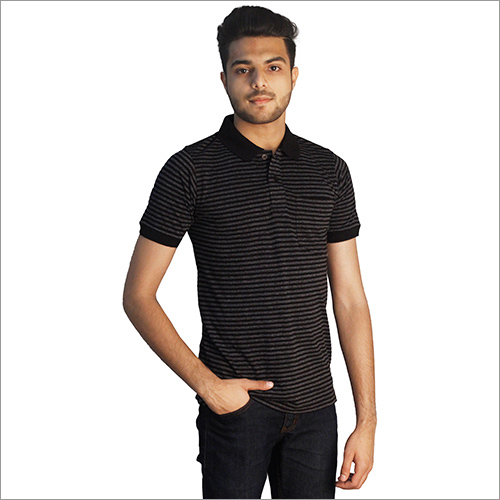 Half Sleeves Polo Neck T-Shirt