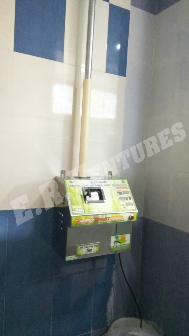 Sanitary Napkin Incinerator and Destroyer Machines