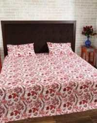 100% Cotton Hand- Loom Bedsheets