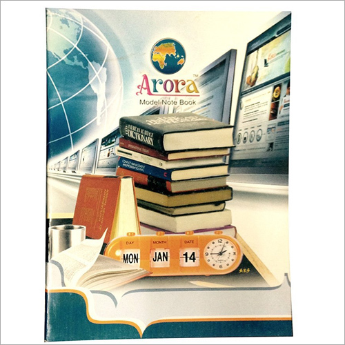 ARORA Excercise Notebook, 160 Pages, (18x24) cm, Single Ruled (set of 100 pcs)