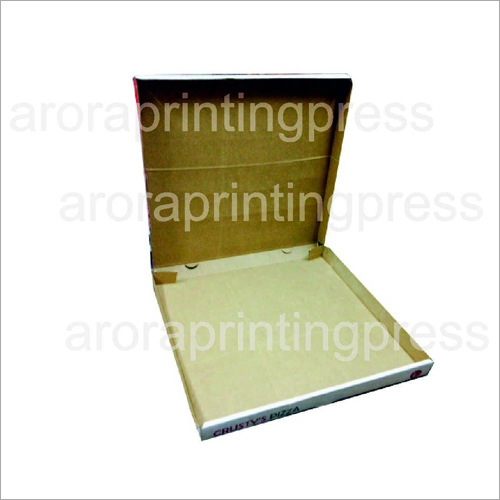 ARORA Colored Pizza box 10x10x1.5 Inches corrugated