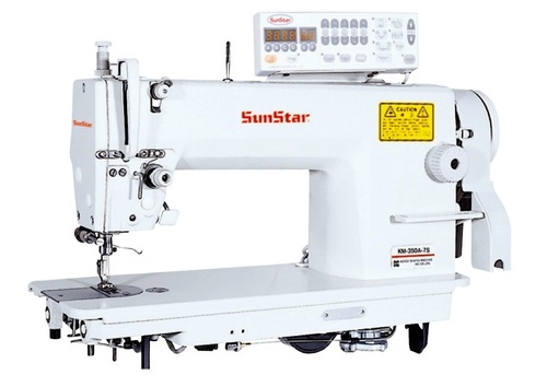 High Speed, 1-Needle, Needle Feed, Lock Stitch Sewing Machine with Automatic Thread Trimmer