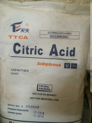 Citric Acid In Indore, Citric Acid Dealers & Traders In