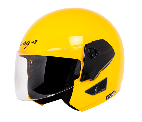 CRUISER YELLOW HELMET